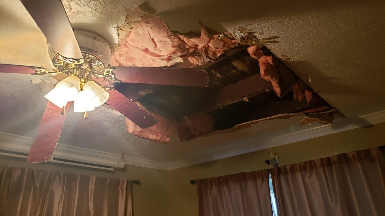 So My Ceiling Caved In You