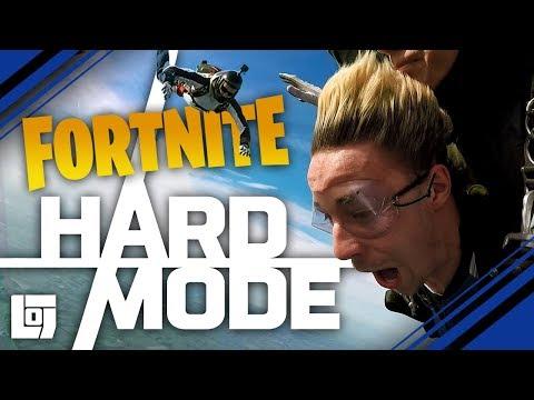 FORTNITE IN SKYDIVE Met Jeremy En Link | HARD MODE | LOG