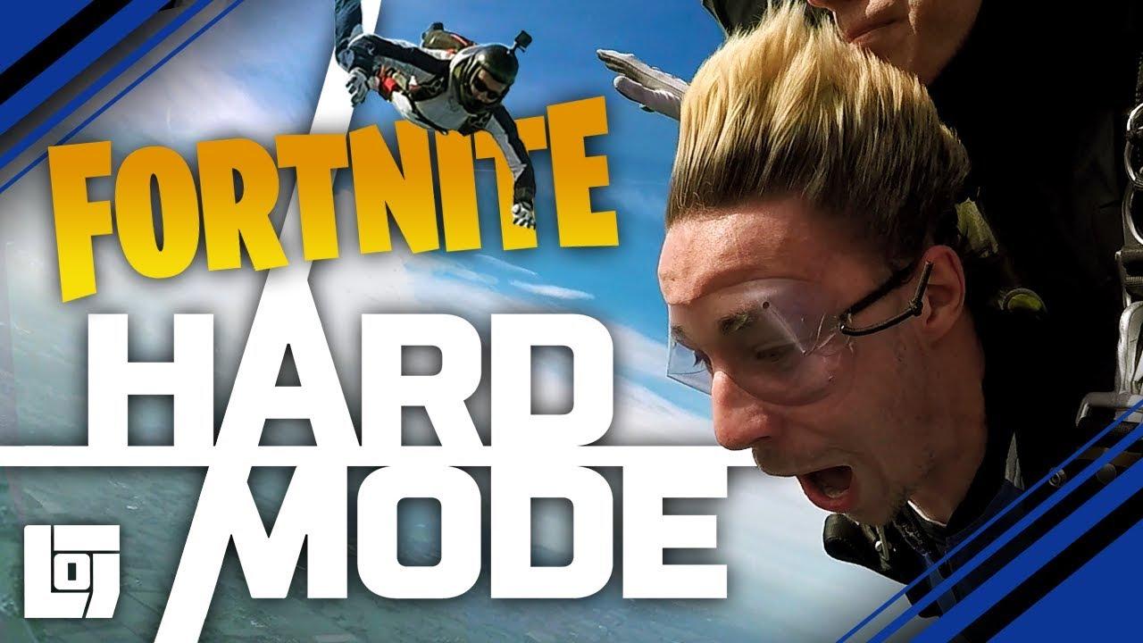 Download FORTNITE IN SKYDIVE met Jeremy en Link | HARD MODE | LOG