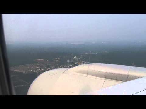 Malaysia Airlines MH89 Kuala Lumpur Landing