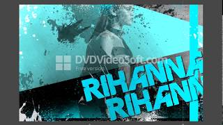 RIHANNA.Постер в adobe photoshop.