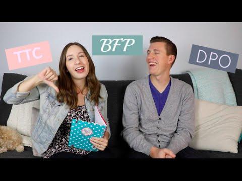 TTC Acronyms | Husband's Hilarious Answers!