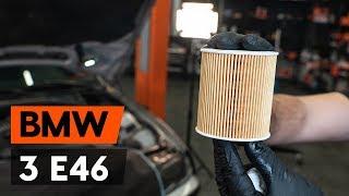 Montare Filtru ulei BMW 3 SERIES: tutorial video