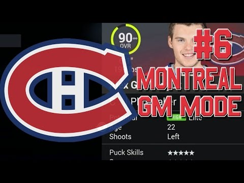 "NHL 16 ""GM Mode"" #6 l Post-Free Agency Options? l Montreal Canadiens"