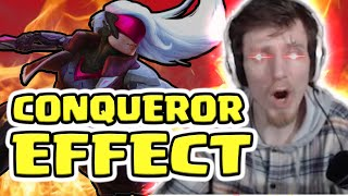 HASHINSHIN: THE NEW CONQUEROR EFFECT ON LEAGUE OF LEGENDS
