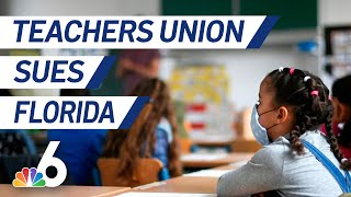 Florida Teachers Union Sues State Over School Reopening Order