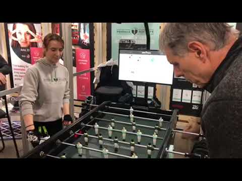 Foosball Society Shows High Tech Game At CES 2018 #CES2018