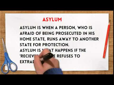 Difference Between Extradition & Asylum