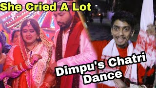 She Cried At Last | Dimpuয়ে কৰিলে Chatri Dance | Assamese Punjabi Wedding