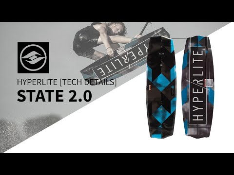 2019 Hyperlite State 2.0 Wakeboard Tech