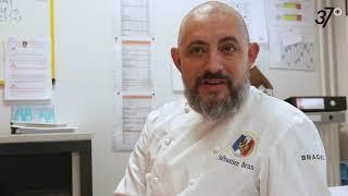 L'interview de Sébastien Brun, chef du restaurant scolaire du collège de Bléré