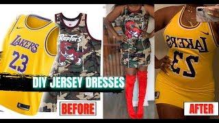 TWO BOMB A$$ JERSEY DRESS DIY | OVO FEST X MILLENNIUM TOUR OUTFIT IDEA