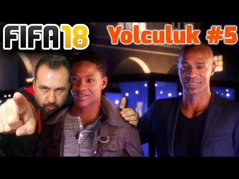 THIERRY HENRY İLE PARTİ! | FIFA 18 YOLCULUK #5