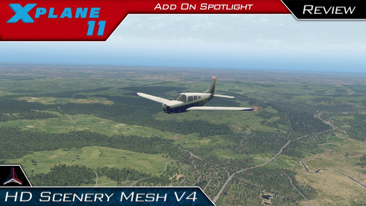 X Plane 11 | HD Scenery Mesh V4 - Installation and Review