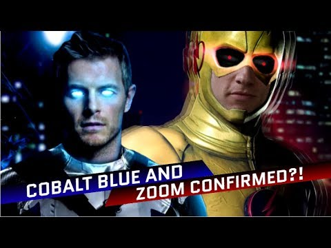 A new Zoom and Cobalt Blue are already confirmed?! - The Flash Theory