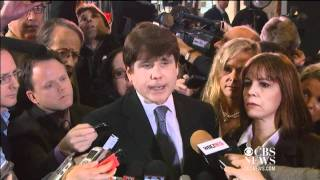 Gambar cover Blagojevich reacts to 14-year prison sentence
