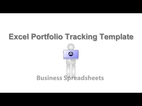 Excel Portfolio Tracking Template