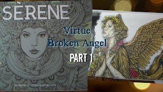 "Angel ""Virtue"" Coloring in Serene by Nicholas Chandrawienata Part 1"