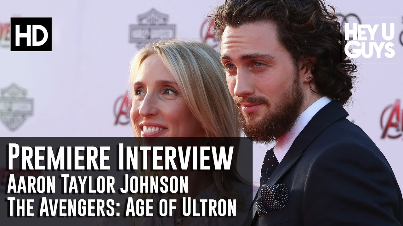 Aaron Taylor Johnson Interview - Avengers: Age of Ultron ...