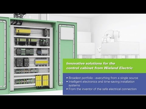 Control cabinet solutions - Wieland Electric