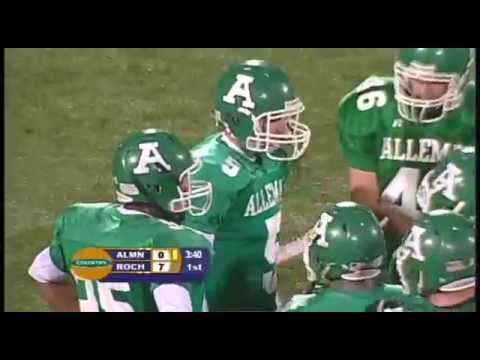 2010 IHSA Boys Football Class 4A Championship Game: Rochester Vs. Rock Island (Alleman)