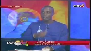 Revue de l'actualité avec Moustapha Diop - Petit Déj du 17 janv. 2020