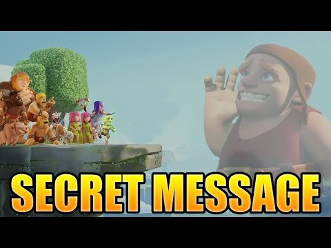 The Builders Secret Message - Letter From The Builder | Clash of Clans Mini Story - CoC Mini Story