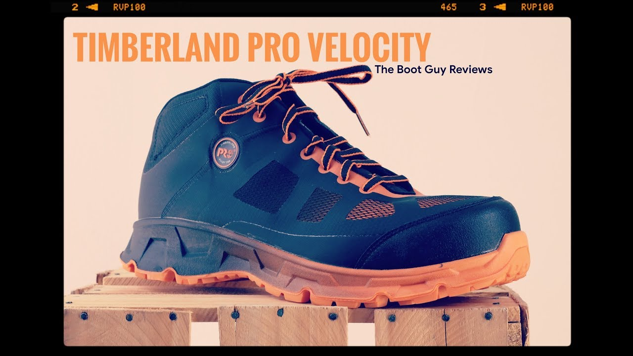 a70bbd55884 TIMBERLAND PRO VELOCITY ALLOY TOE [ The Boot Guy Reviews ]