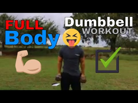 25 Minute Full Body Dumbbell Workout [2018] Fitbody Nation