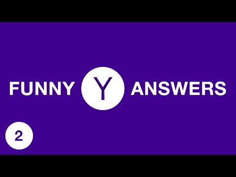 FUNNY YAHOO ANSWERS 2