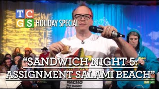 Sandwich Night 5: Assignment Salami Beach