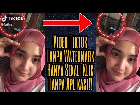 Tutorial Save Video Tiktok Tanpa Watermark Youtube