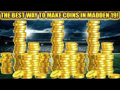 THE BEST AND EASIEST WAY TO MAKE COINS IN MADDEN 19! | MADDEN 19 ULTIMATE TEAM