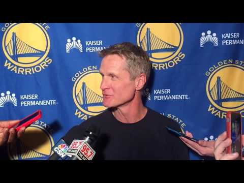 "Kerr on Ron Adams: ""Somebody"