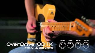 OD-1X Over Drive Demonstration [BOSS Sound Check]