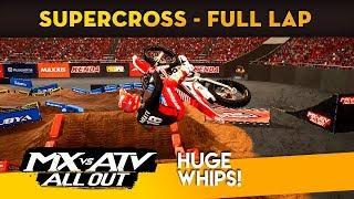 MX vs ATV All Out - Full Supercross Hot Lap Gameplay!