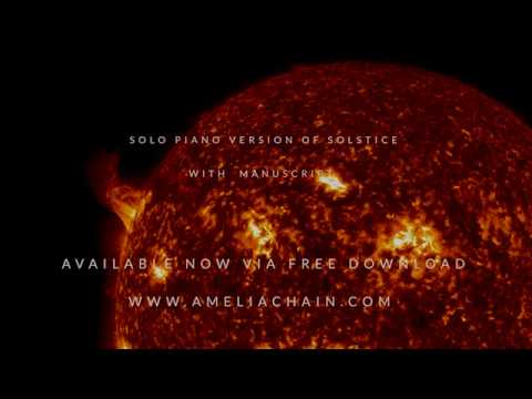 Download Free Sheet Music For Piano - Amelia Chains's Solstice