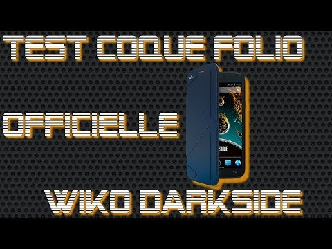 Wiko Darkside - Test de la Coque Folio Officielle Wiko