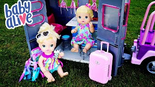 Baby Alive Travel Routine Camping