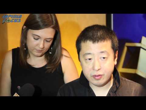 Laceno d'oro - Intervista Jia Zhangke e Zhao Tao 18 agosto 2014