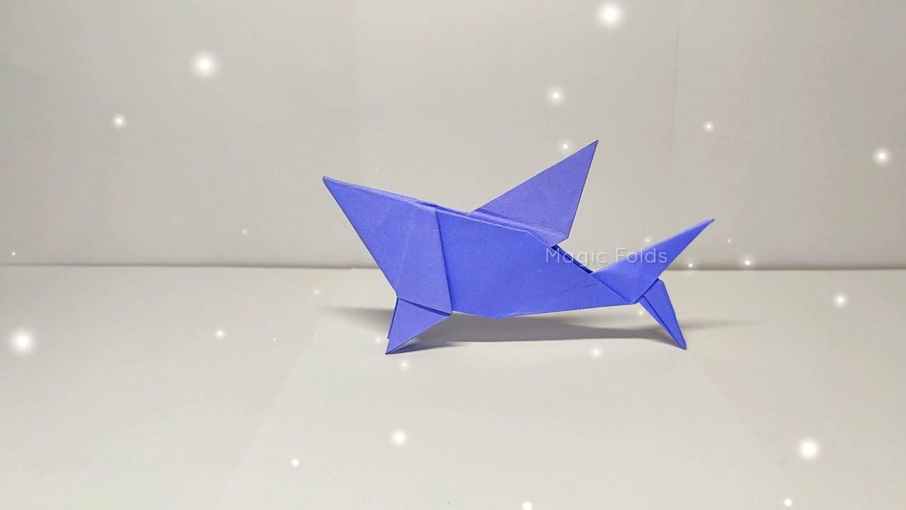 Origami Shark #Shorts