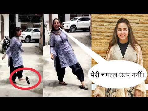 Sunanda Sharma Funny Video | Sunanda Sharma Jaani Tera Naa | Sunanda Sharma Morni