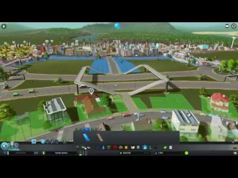 Let's Play Cities Skylines #8 - Traffic and Dam Problems