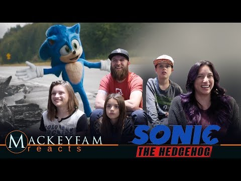 Sonic The Hedgehog (2020) - New Official Trailer - REACTION and REVIEW!!!