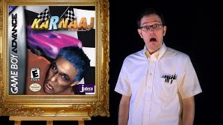 AVGN: Bad Game Cover Art #17 - Karnaaj Rally (Game Boy Advance)
