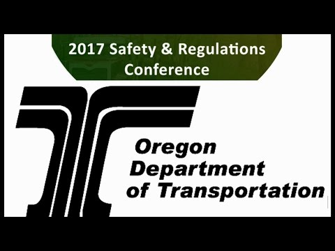 2017 Conference Oregon Dept of Transportation