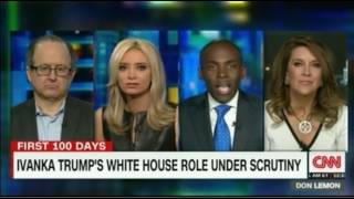 Ugly fight on CNN over Ivanka Trump