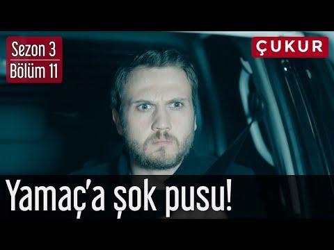 Çukur 3.Sezon 11.Bölüm - Yamaç'a Şok Pusu!