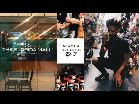 Miami & Orlando: The Florida Mall, Trying Lush | EP 3
