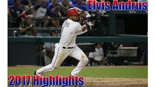 [texas rangers] elvis andrus: 2017 highlight mix